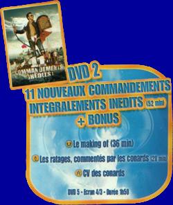 les 11 commandements indits
